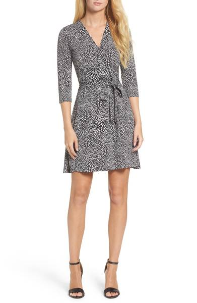 Leota printed wrap dress from Nordstrom