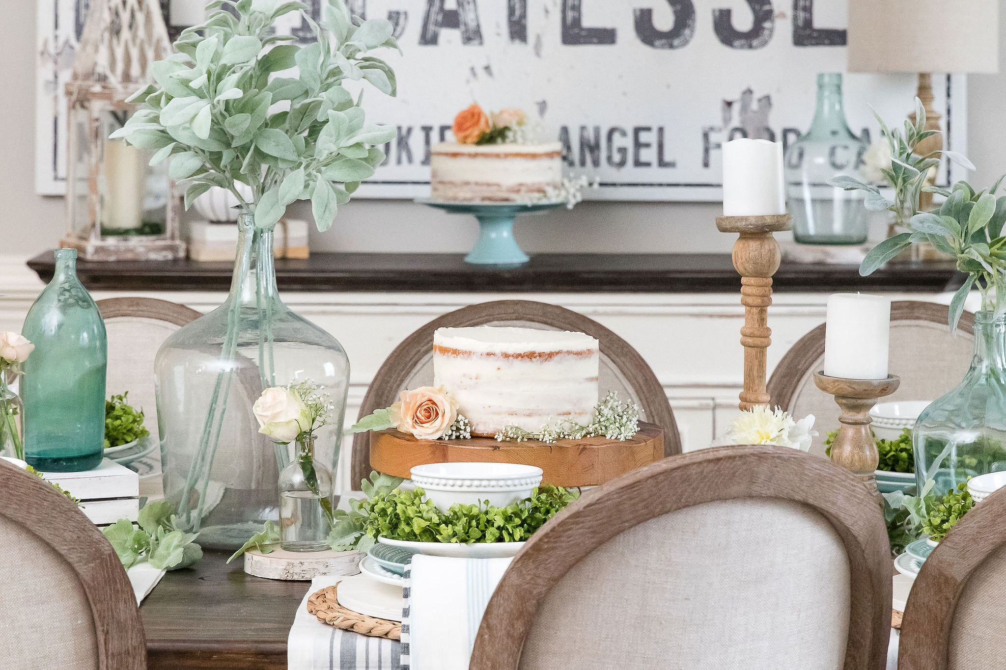 Home Goods Media Styling -