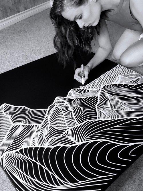 Christa Rijneveld - Stress-Relieving Fine Art Jigsaw Puzzles - Lemonade Pursuits - Puzzle Meditation