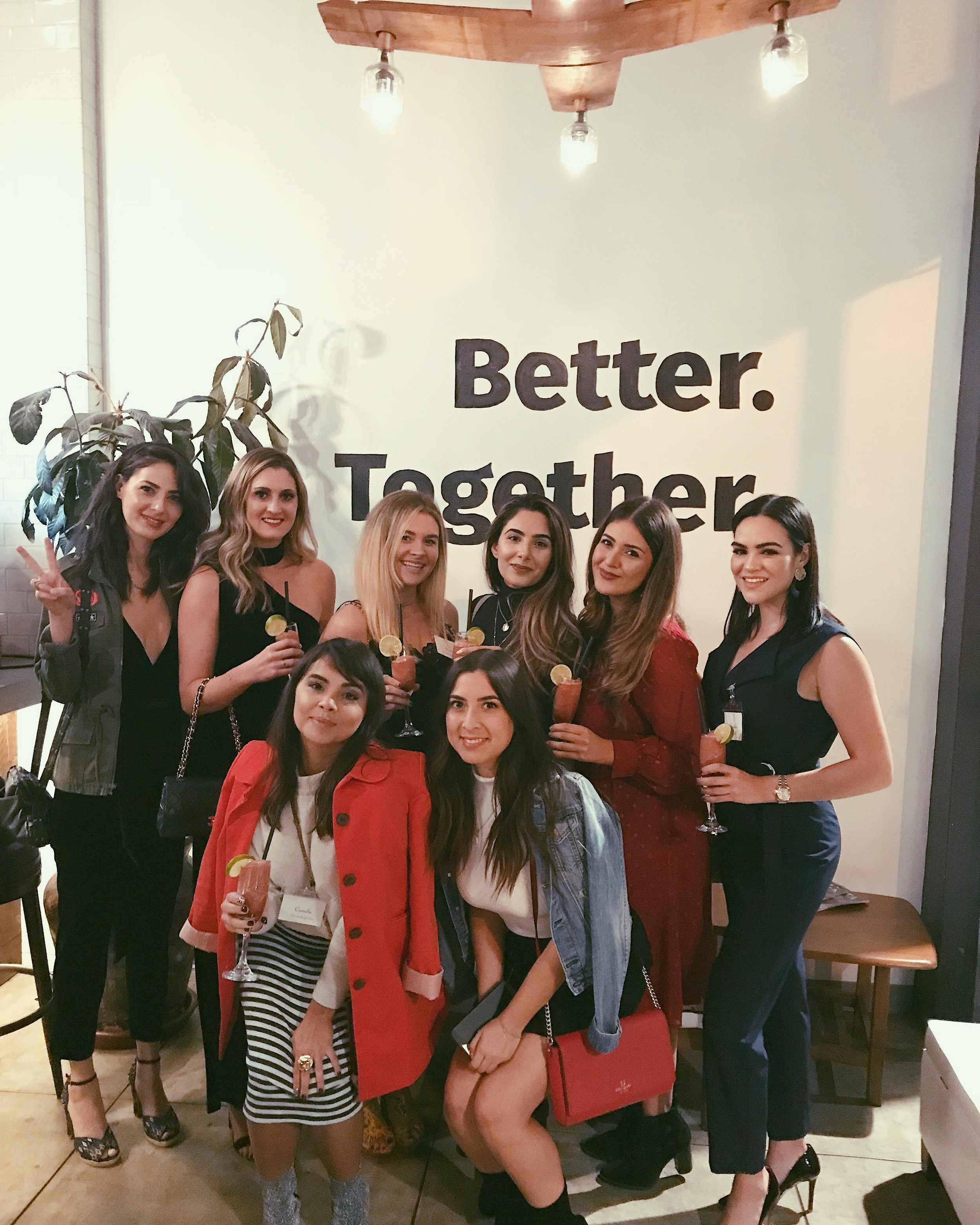 Having the best time with my girls at the  California Bloggers  event at  Fruitcraft  in San Diego, CA