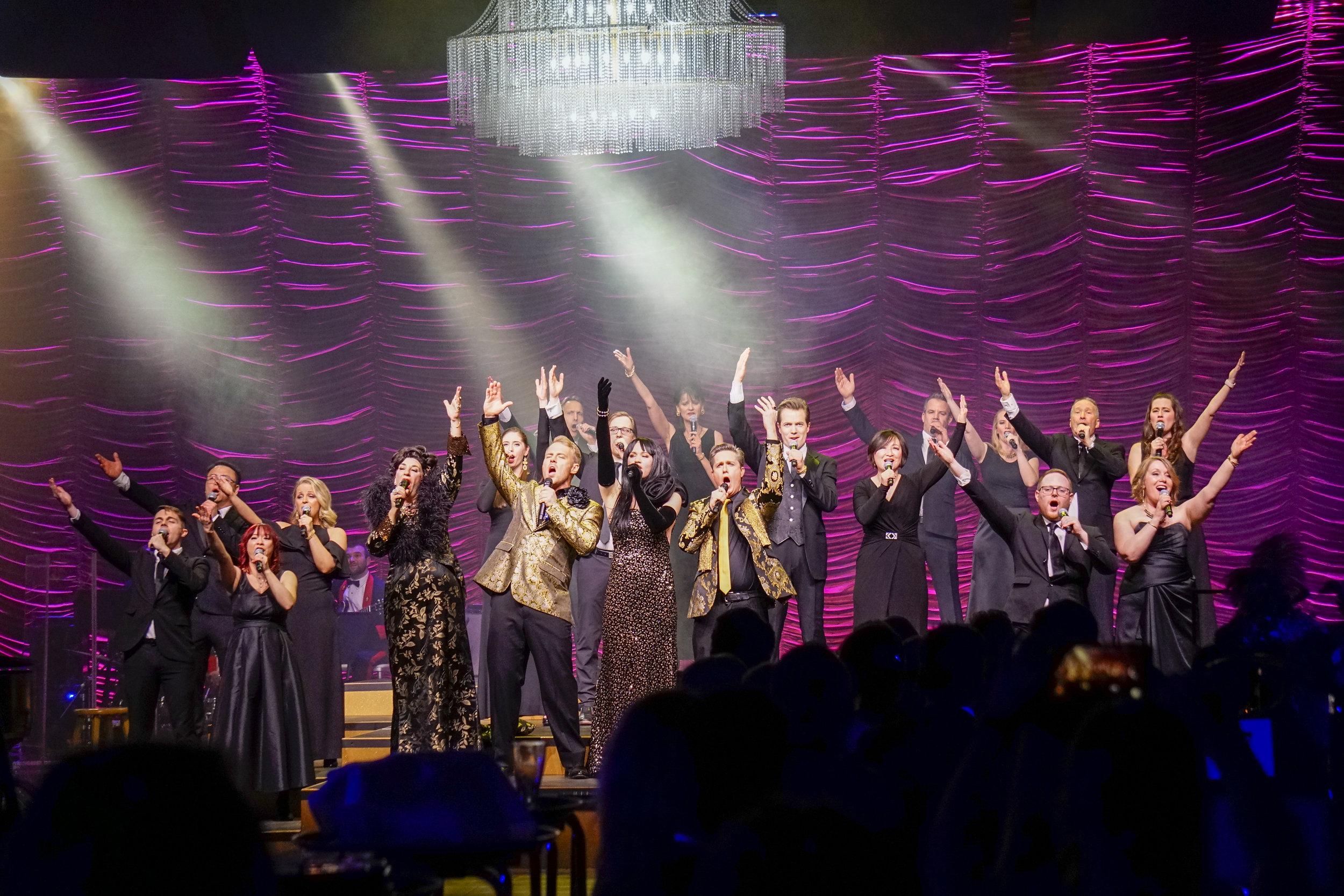 The Edmonton Opera Chorus rocks the house with a Queen medley