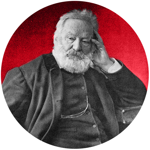 VICTOR HUGO - Rigoletto was based on Victor Hugo's 1832 play Le roi s'amuse, which was banned after a single performance. Hugo is best known for having written Les Misérables and The Hunchback of Notre-Dame.