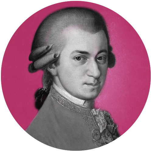 W.A. MOZART - Born in Salzburg in 1756, Wolfgang Amadeus Mozart composed over 600 works of music, including 22 operas. Other famous operas include The Magic Flute, Don Giovanni, Così fan tutte, La clemenza di Tito, Idomeneo, and The Abduction from the Seraglio.