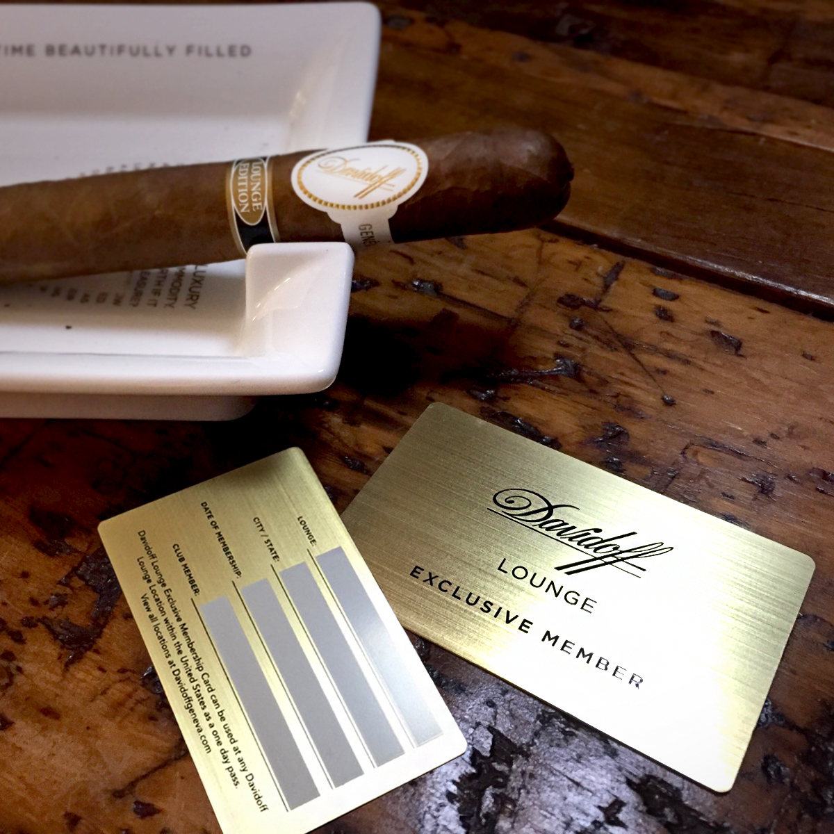Join the Davidoff Lounge as an Exclusive Member, Located in The Tobacco Shop of Ridgewood, NJ - Bergen County