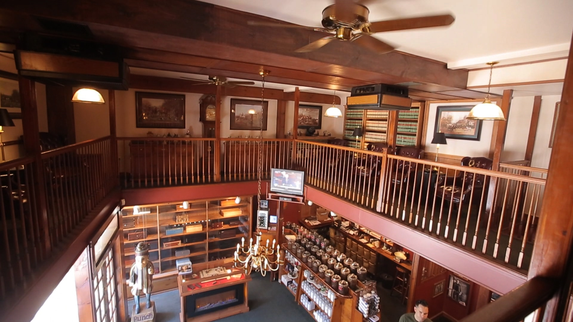 Mezzanine Cigar Lounge at The Tobacco Shop of Ridgewood