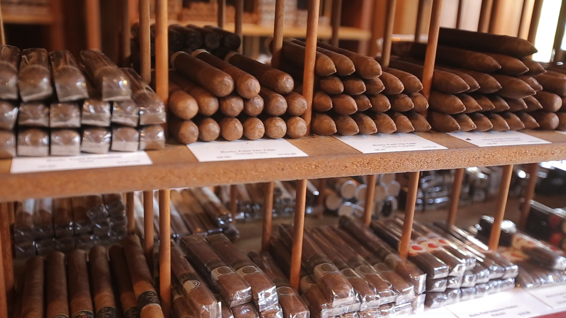 Cigars in the Humidor at the  Tobacco Shop of Ridgewood.jpg