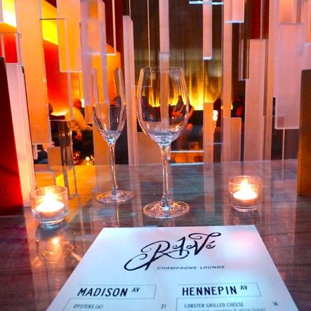 Releve Champagne Lounge - Minneapolis, Minnesota