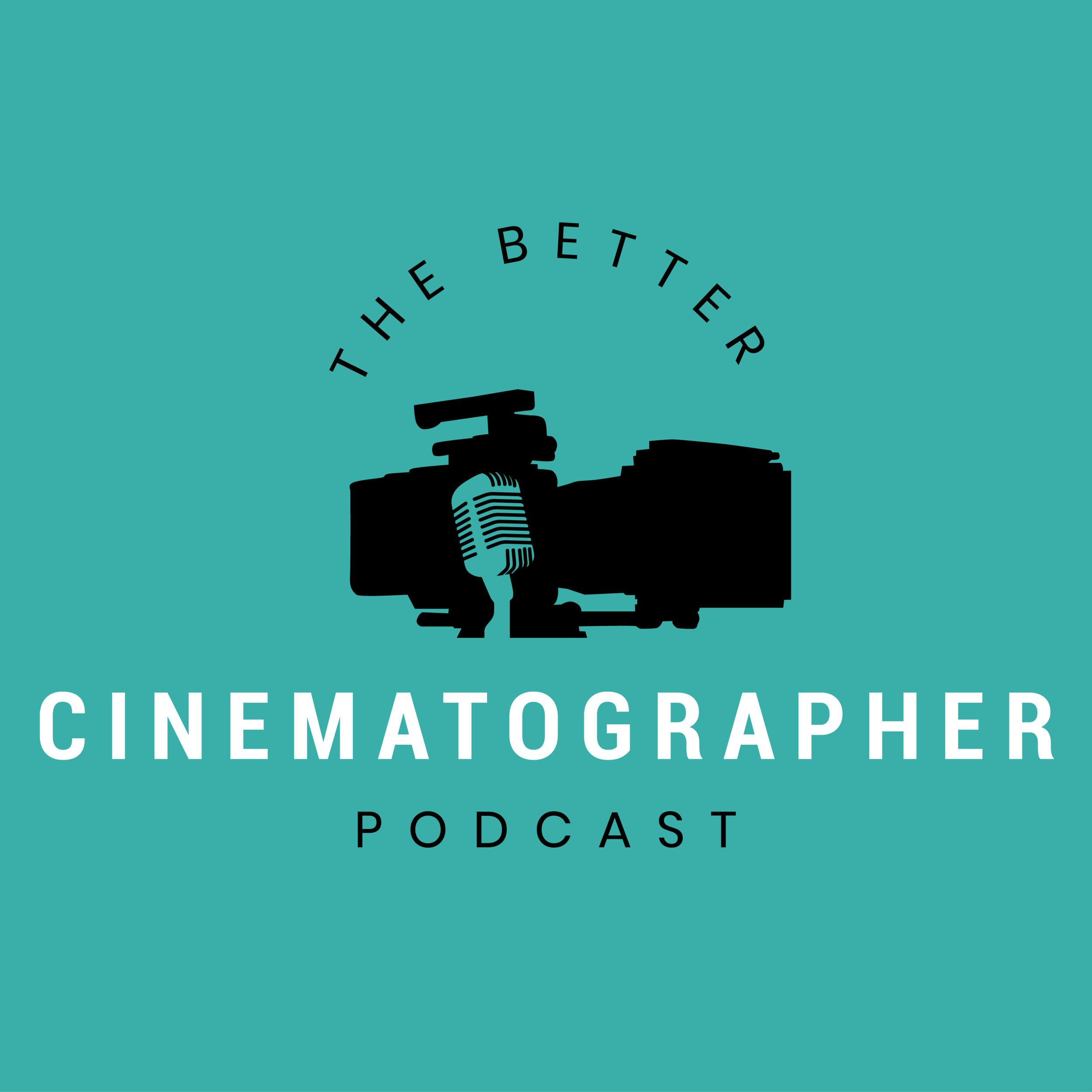 the better cinematographer podcast logo carter hewlett logo