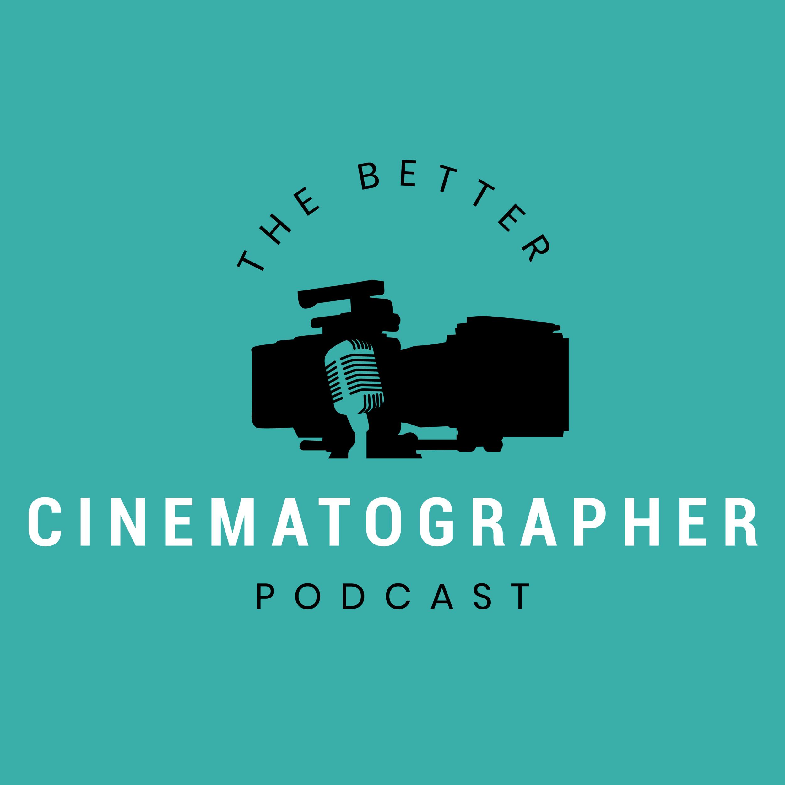 the better cinematographer podcast logo carter hewlett logo