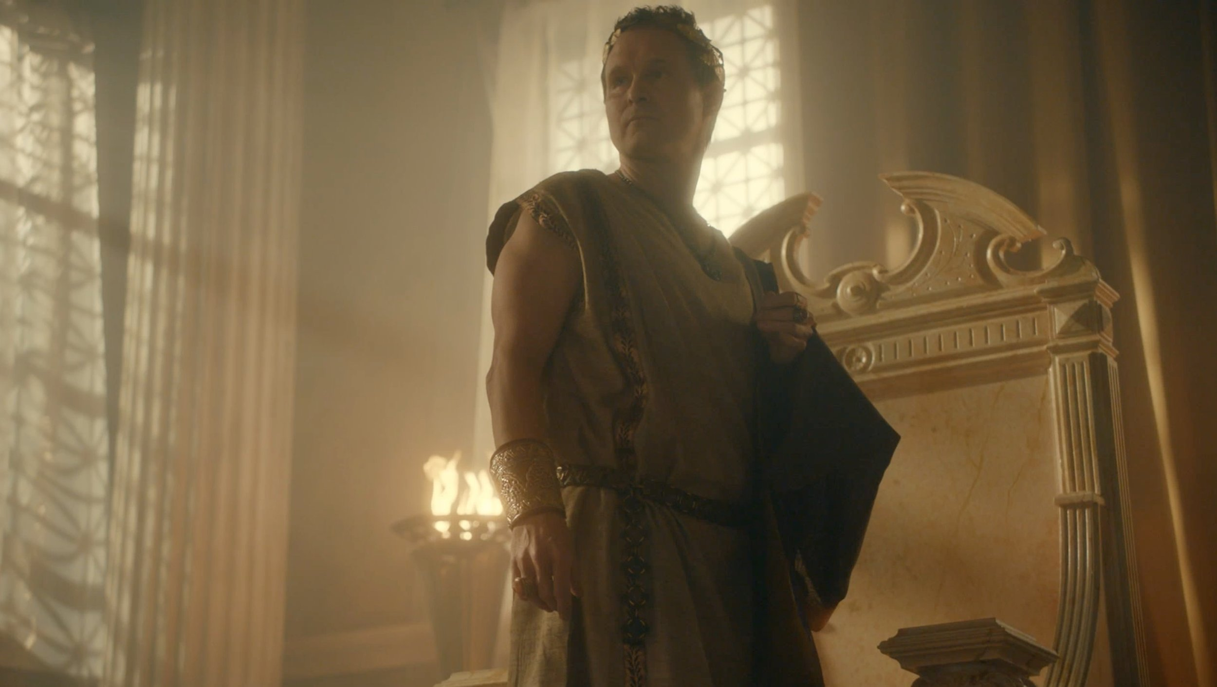 ROMAN EMPIRE (Netflix)   8x60 Series documenting the lives of famous Roman rulers, Julius Caesar, Cleopatra, Pompey, etc.