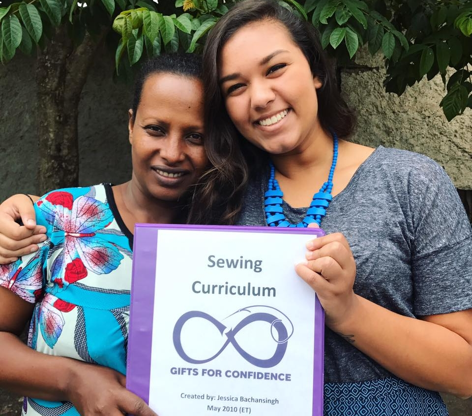 June 2017 - Sewing Curriculum ImplementationWhile in Ethiopia, Jessica spent three weeks reviewing the 21 lessons in the new curriculum. The curriculum was also translated into Amharic for complete understanding of all the lessons as a teaching guide for Friwot.