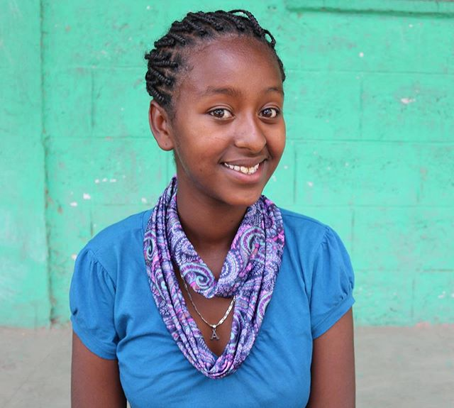 Meet Mahelet! Did you know that when you purchase a scarf you can go to our website and learn about the girl who made it? We aim to continue offering greater transparency into the story behind your Sitota Scarf. #giftsforconfidence