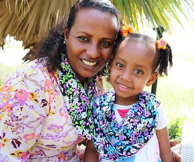 "Mother's Day is right around the corner! Our ""ababa"" scarves come in many colors. Ababa means flower in the Ethiopian language. Gift your mom the perfect flowers this Mother's day with a Sitota Scarf! Each scarf supports the sewing education of a young woman in Ethiopia 🌸"