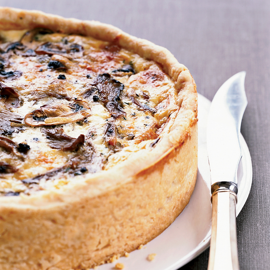 Over-the-Top Mushroom Quiche by Thomas Keller   See recipe