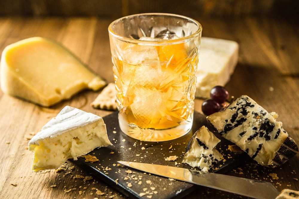 Paring Old Fashioned with cheese   See recommendations