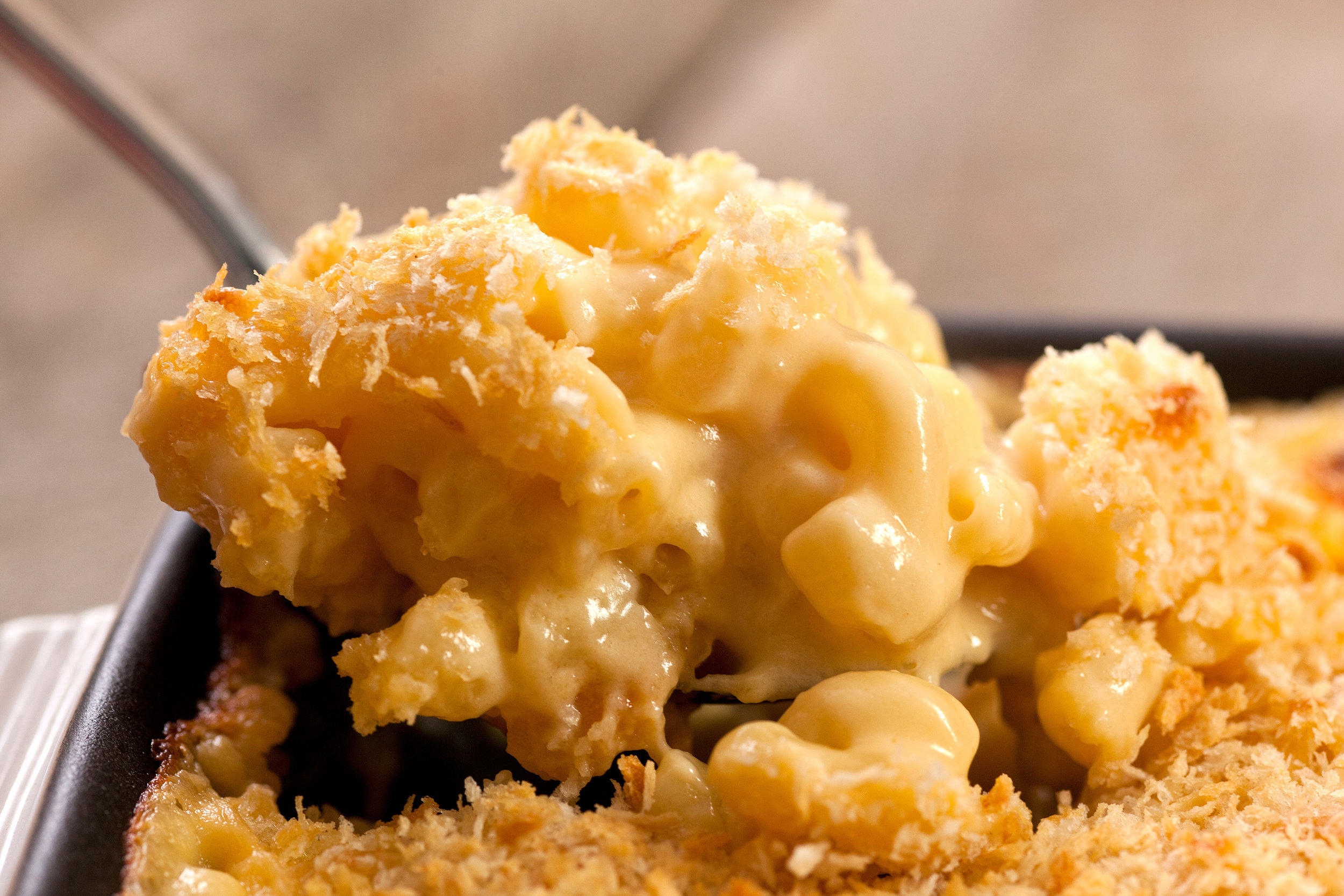 Mac & Cheese by Chow Hound   See recipe