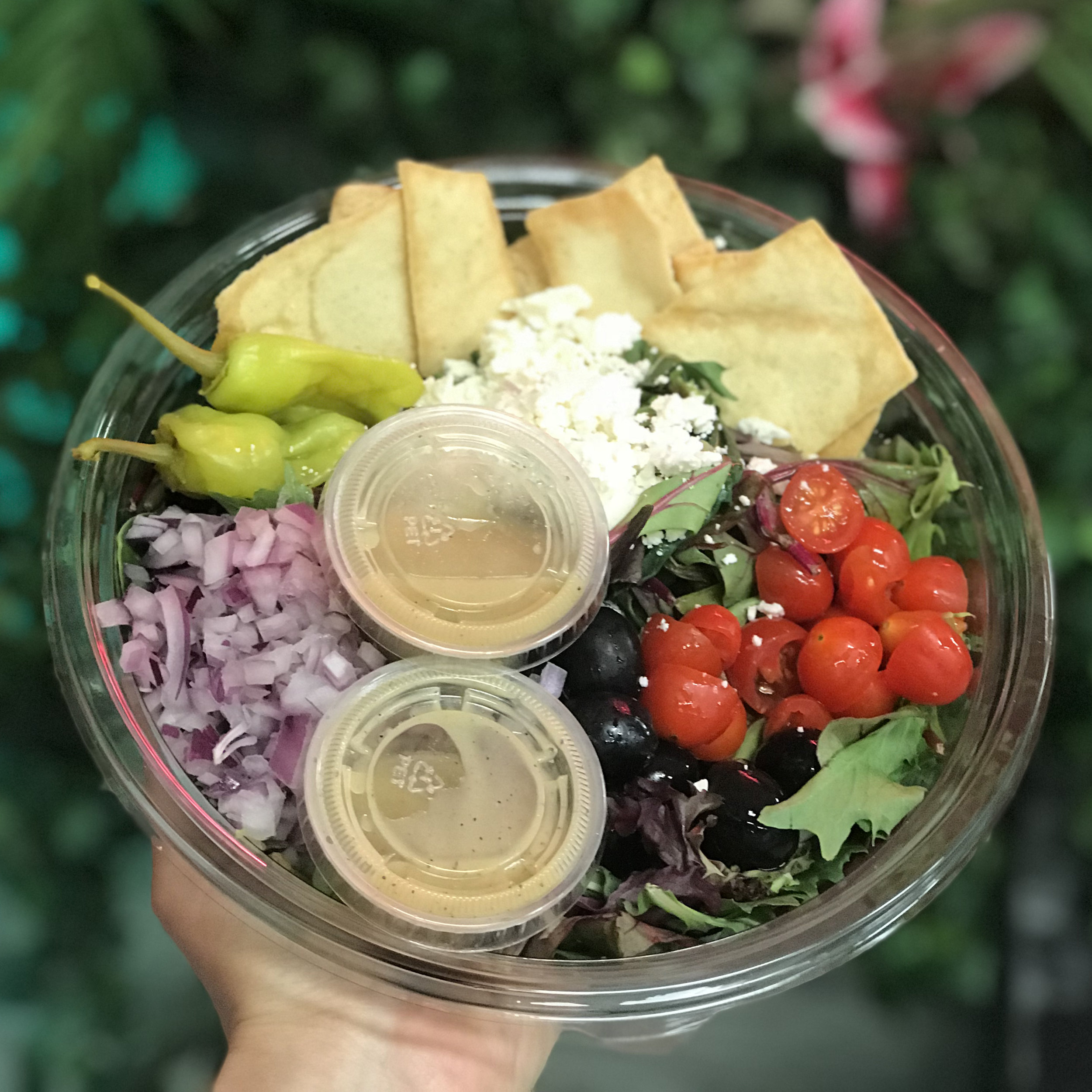 OUR SALADS - Made with the freshest ingredients and dressings made in-house daily.