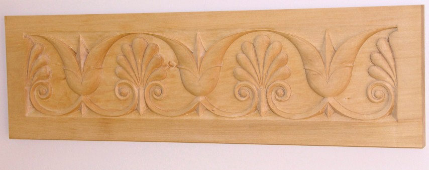 Stylized Tulips in Basswood