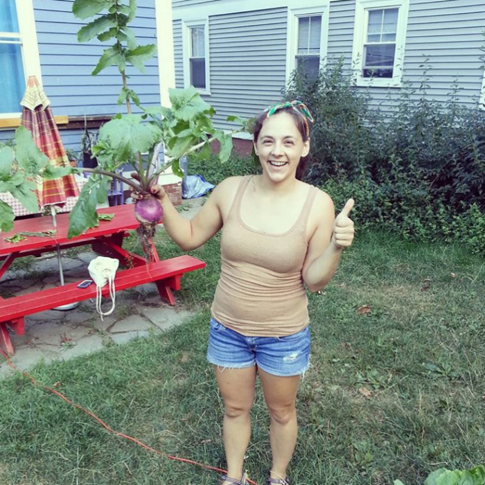 I   love   gardening. It is often my preferred form of therapy and self-care emotionally. This was my first turnip!