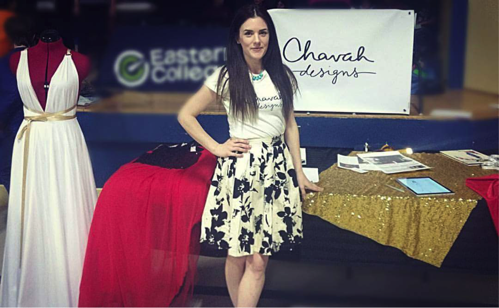 Heidi Klum eat your heart out. Chavah design has Project Bridesmaid in the bag.