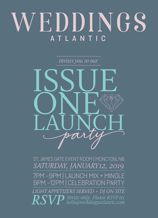 Our Launch Party Invitation!