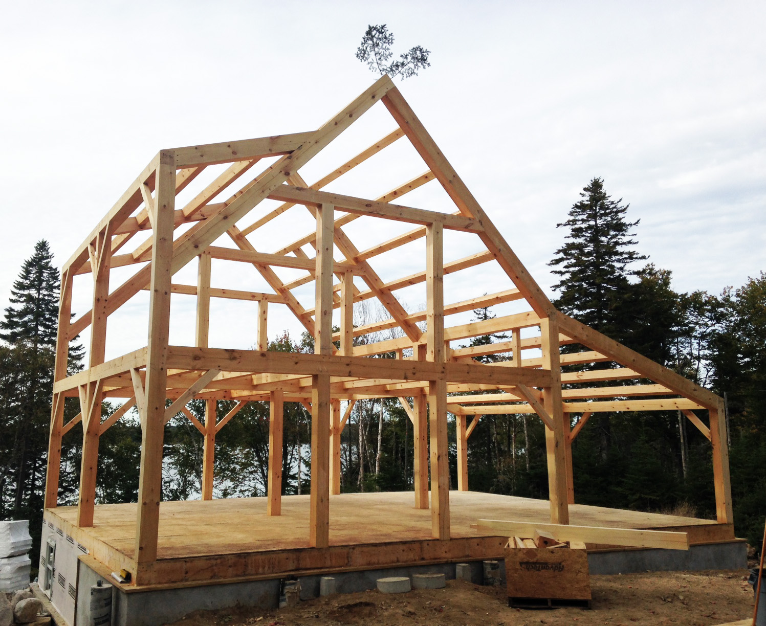 Maine Coast Timber Frame