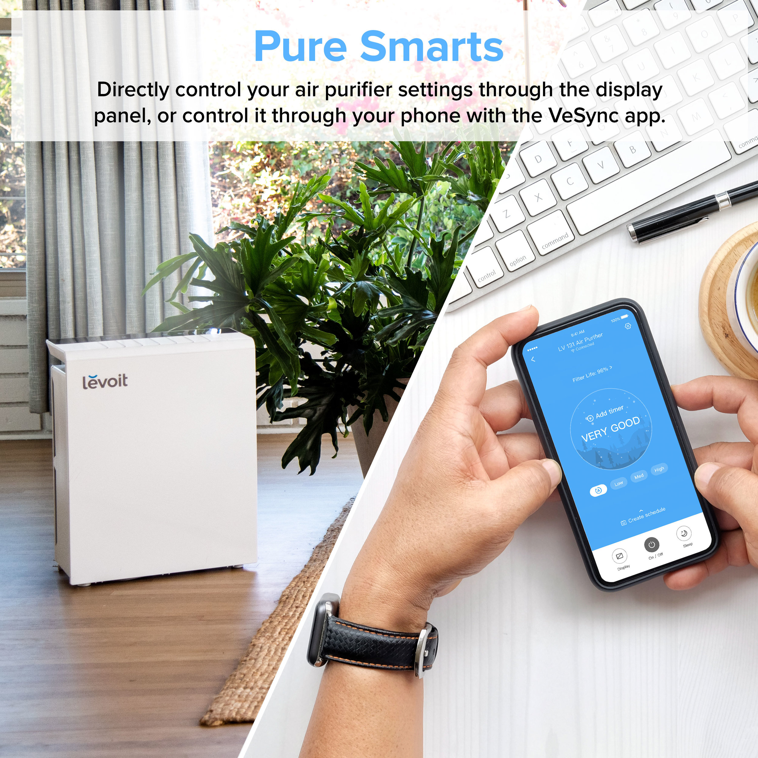 Levoit All Products Levoit LV PUR131S Smart True HEPA Air Purifier