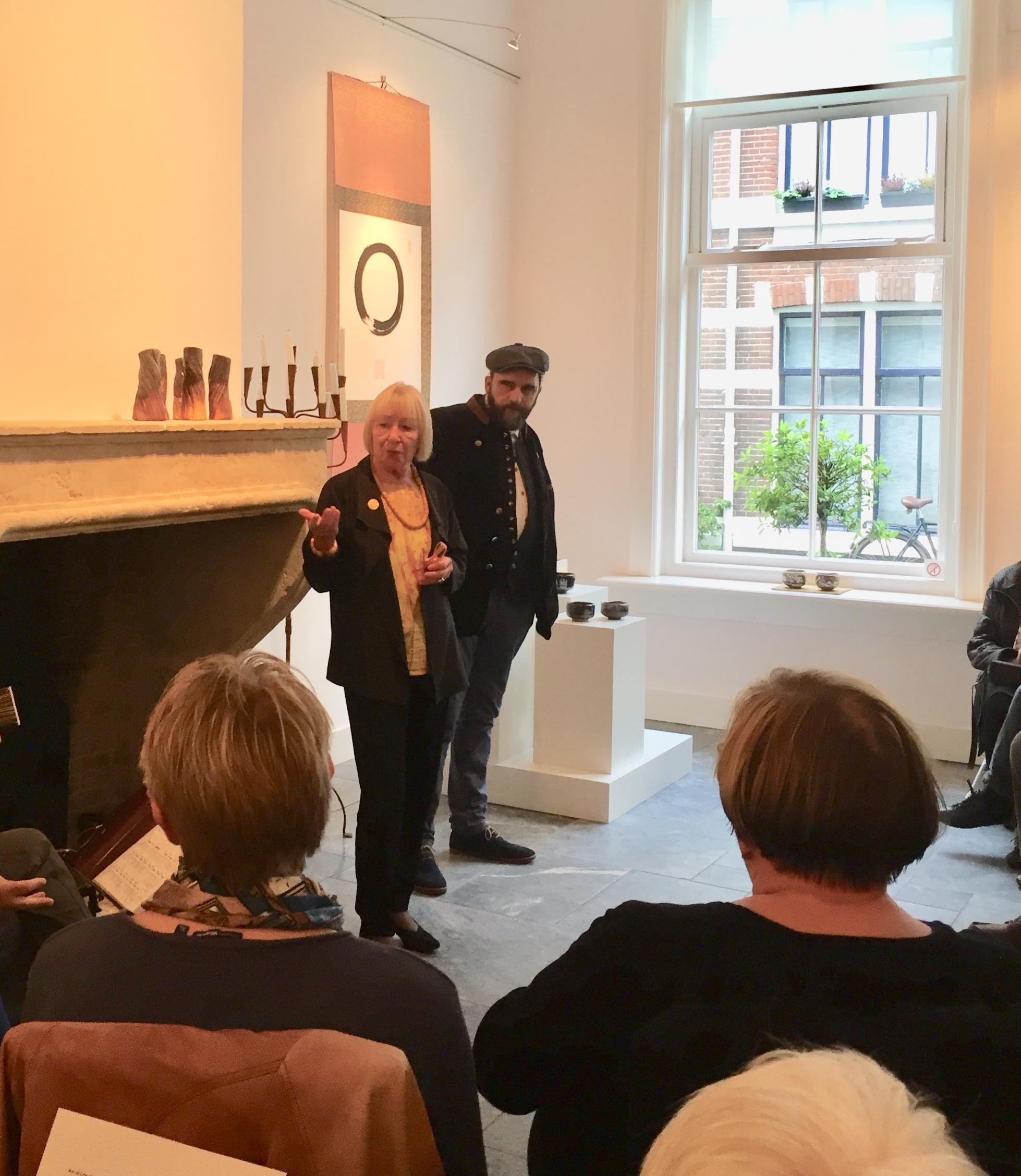 Brigitte Reuter opened the exposition.