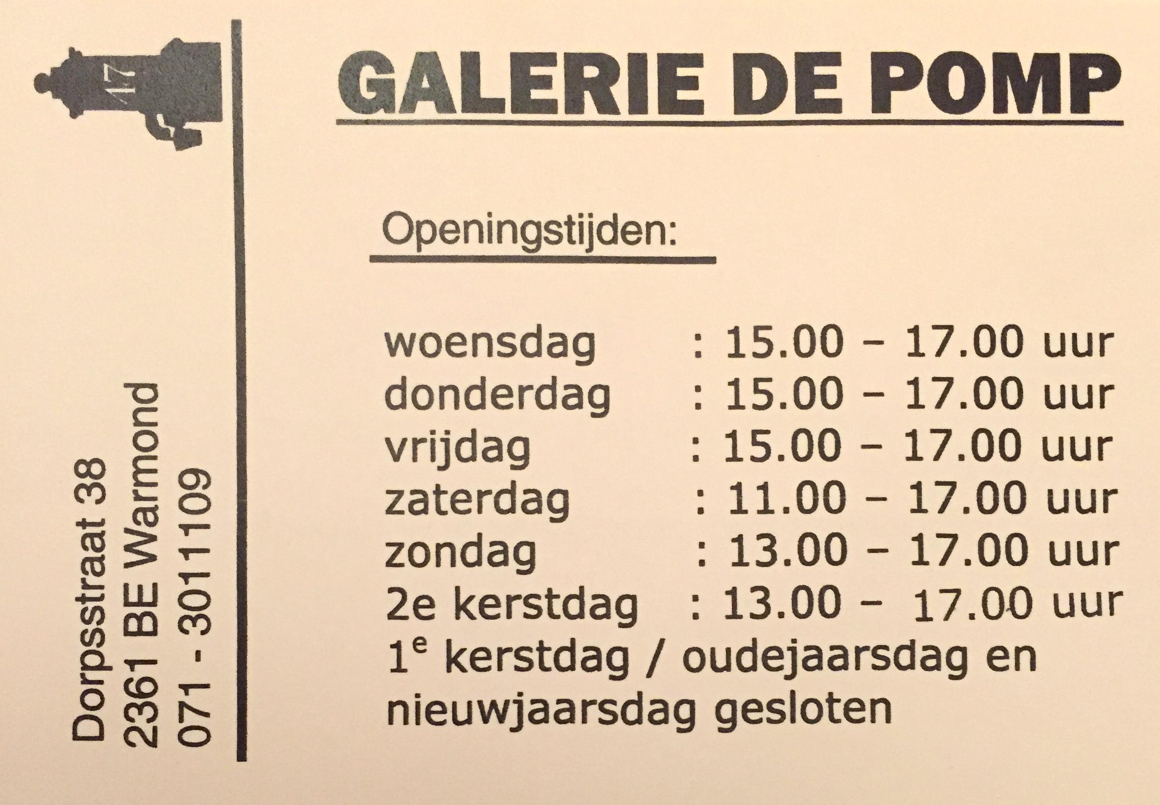 2017Dec7 Openingstijden Galerie de Pomp.jpg