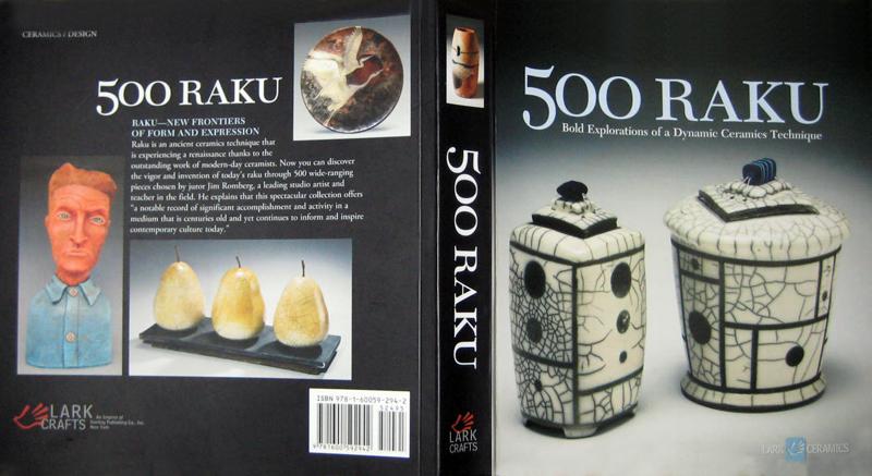 "2011: My 2006 Mashiko Special Judges Award Horsehair Raku ""Four Seasons"" Vase is published in this 500 Raku book by Lark Crafts."