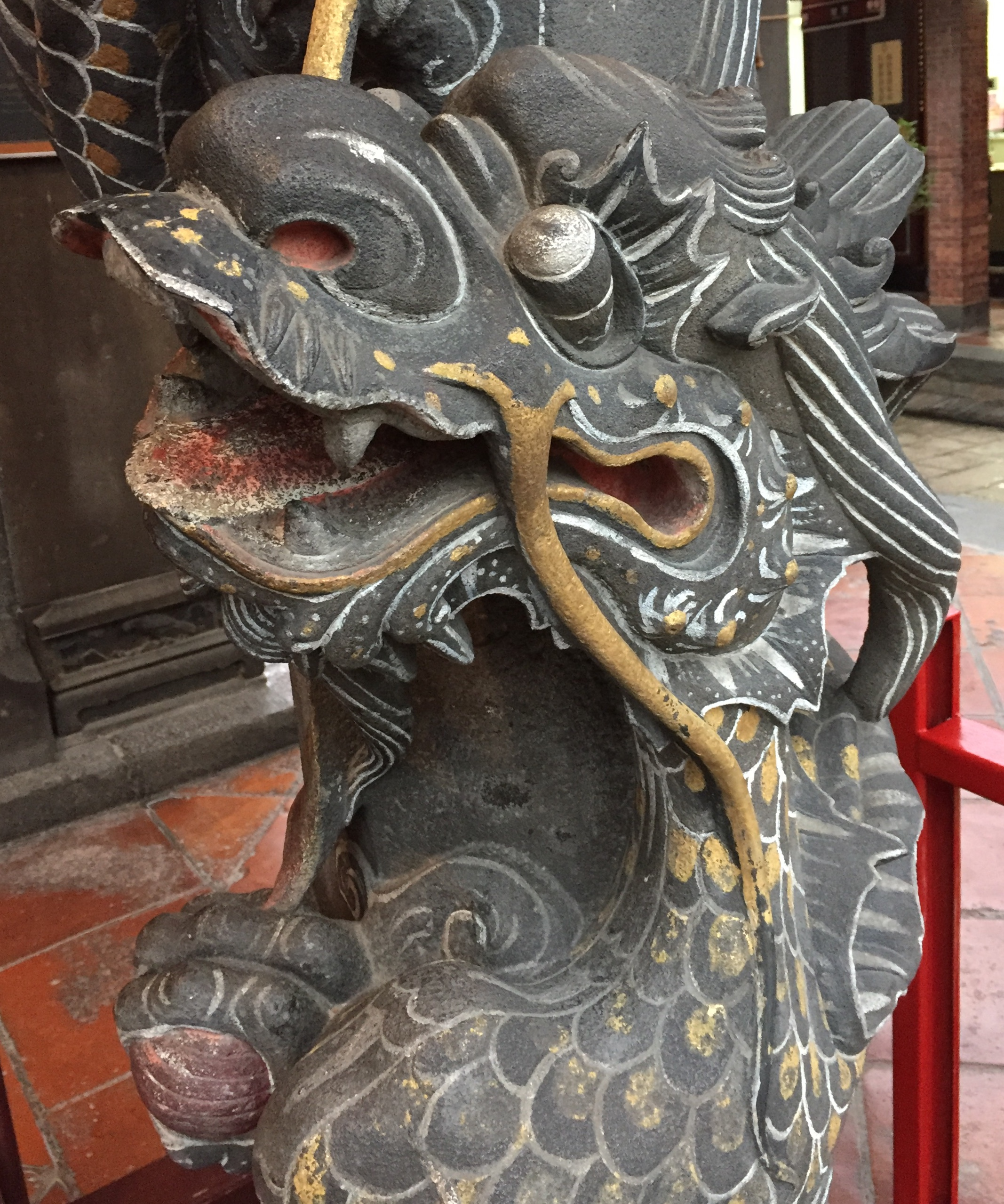 The dragon signifies strength, power and good luck.