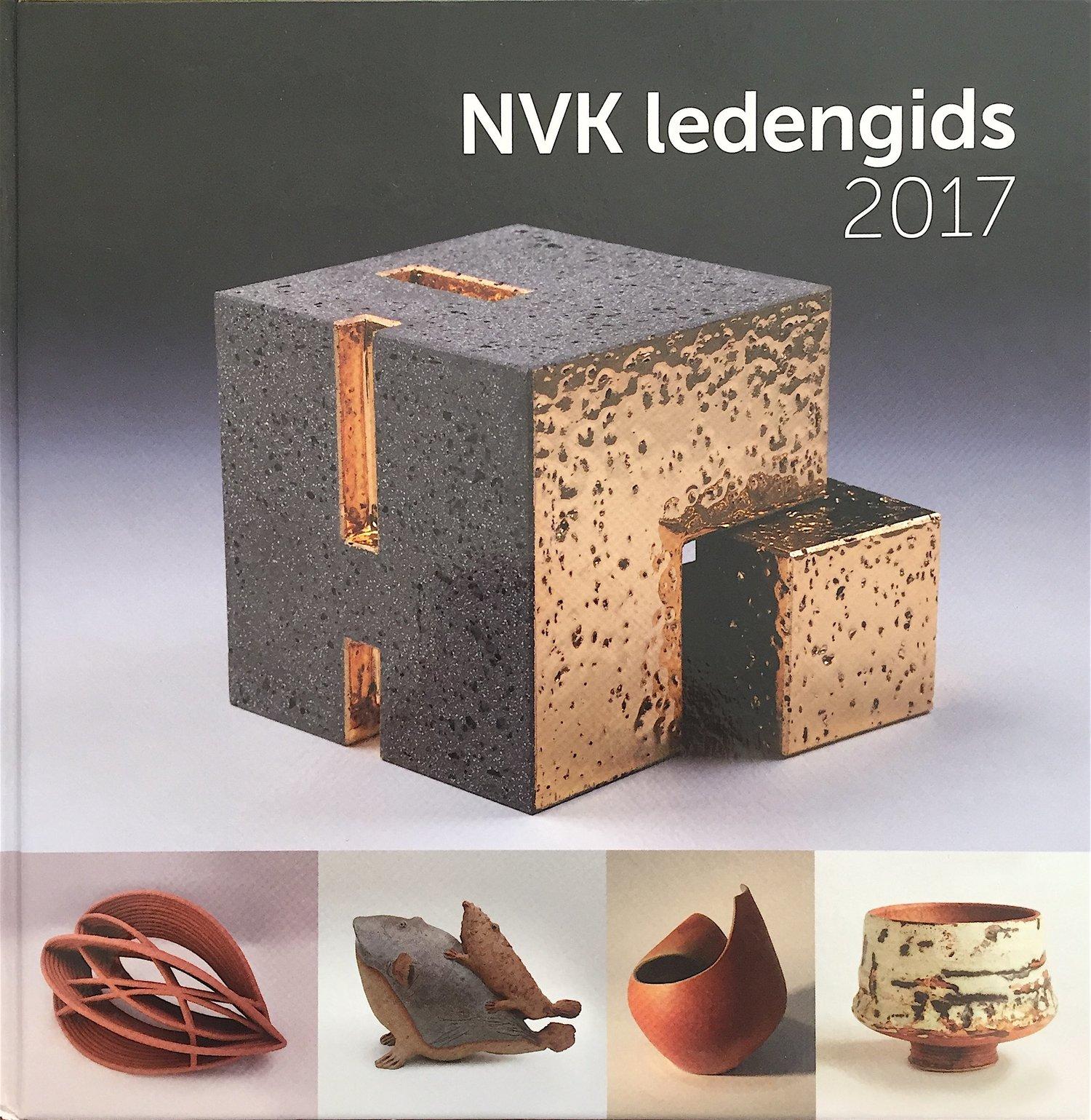 2017 Boek van Nederlandse Vakgroep Keramisten