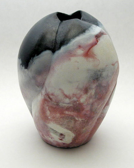 A vase from a pitfire