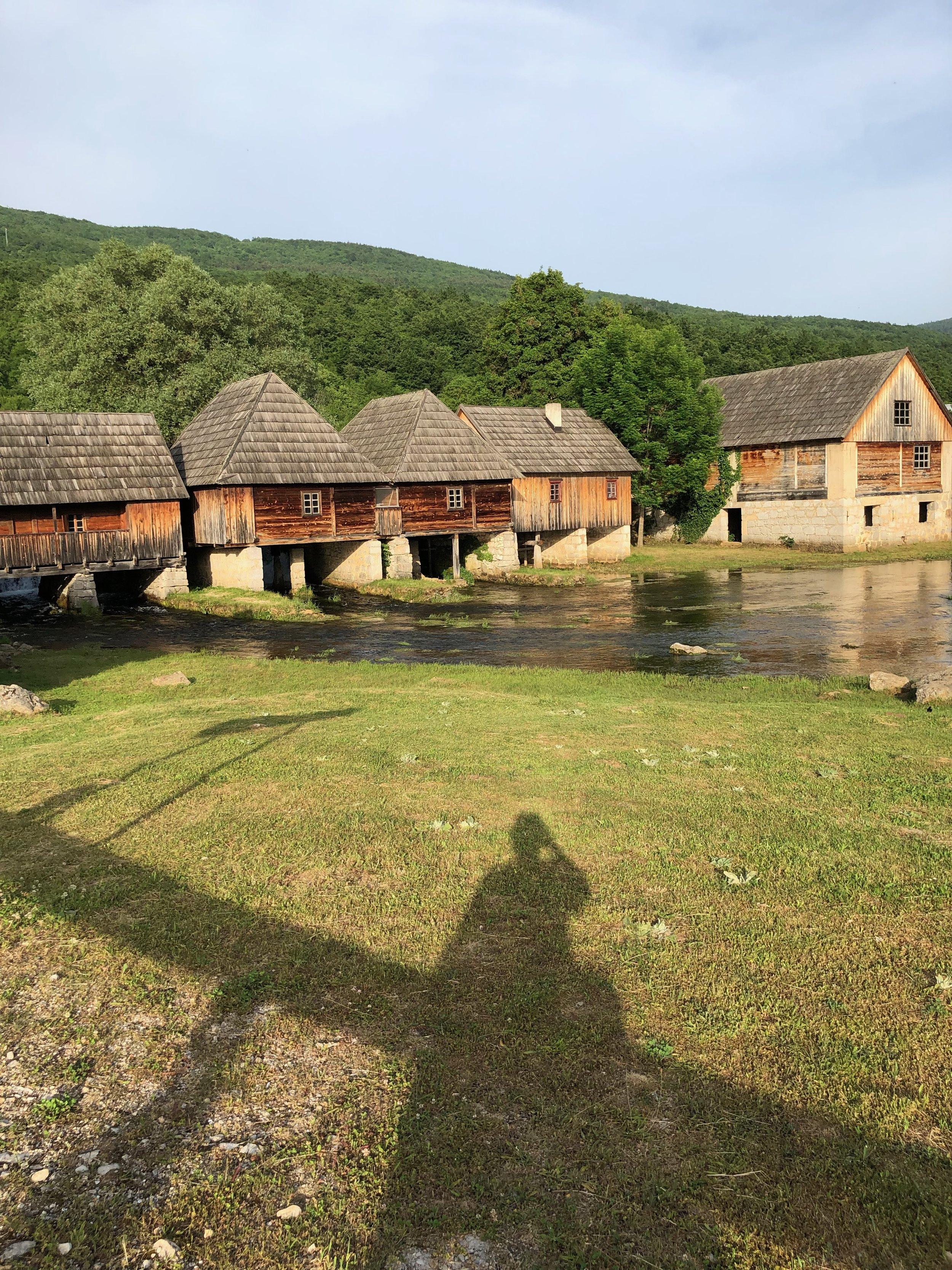 Watermills.