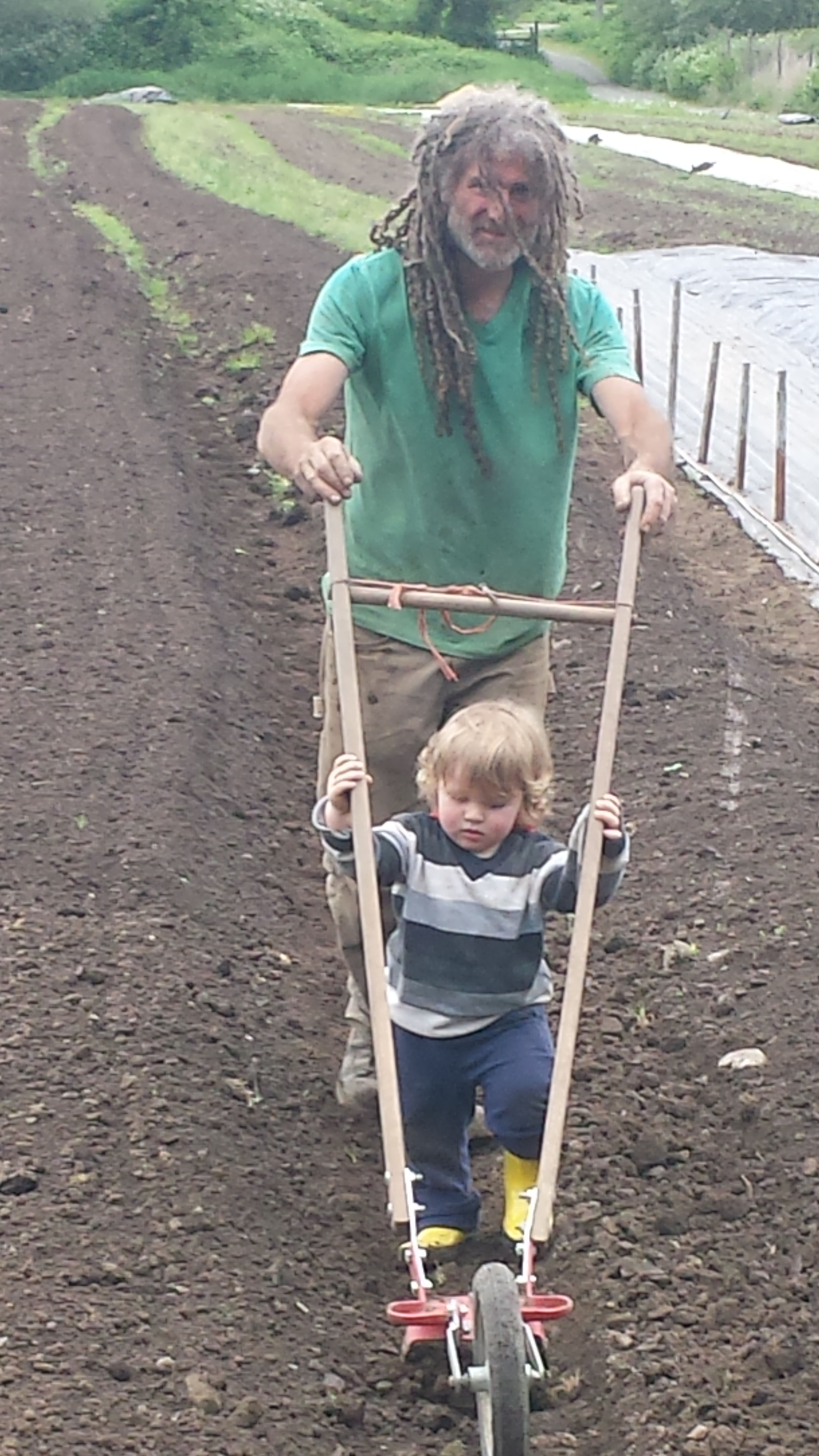 - In 2016, his dream of finding a piece of land to call his own came true. With his wife and son,he moved One Love Farm to the fertile and sunny benches of the Fraser Canyon. Here, with mountain goats looking down on them, he continues to work the soil with his hands while the Fraser River drifts past and down to the Fraser Valley with promise of great things to come.
