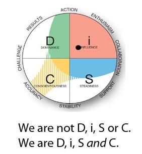 Photo taken from    DiSC Website