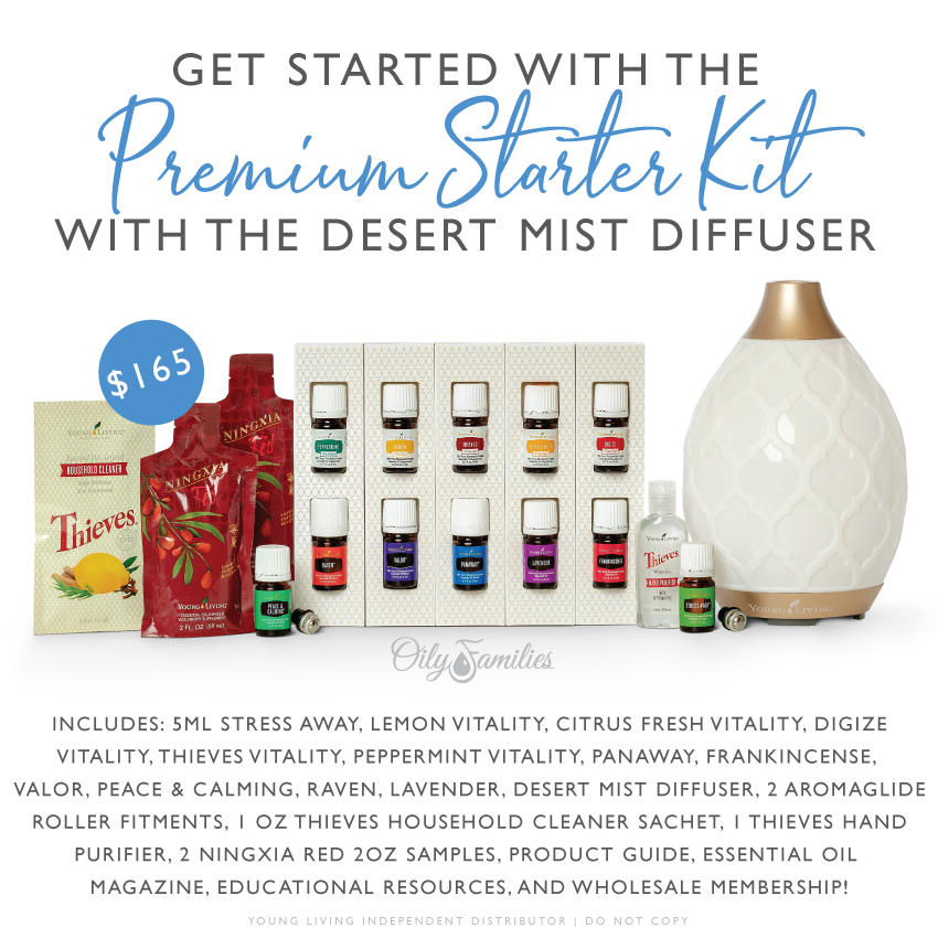 Premium Starter Kit — The Essential Oil Revolution