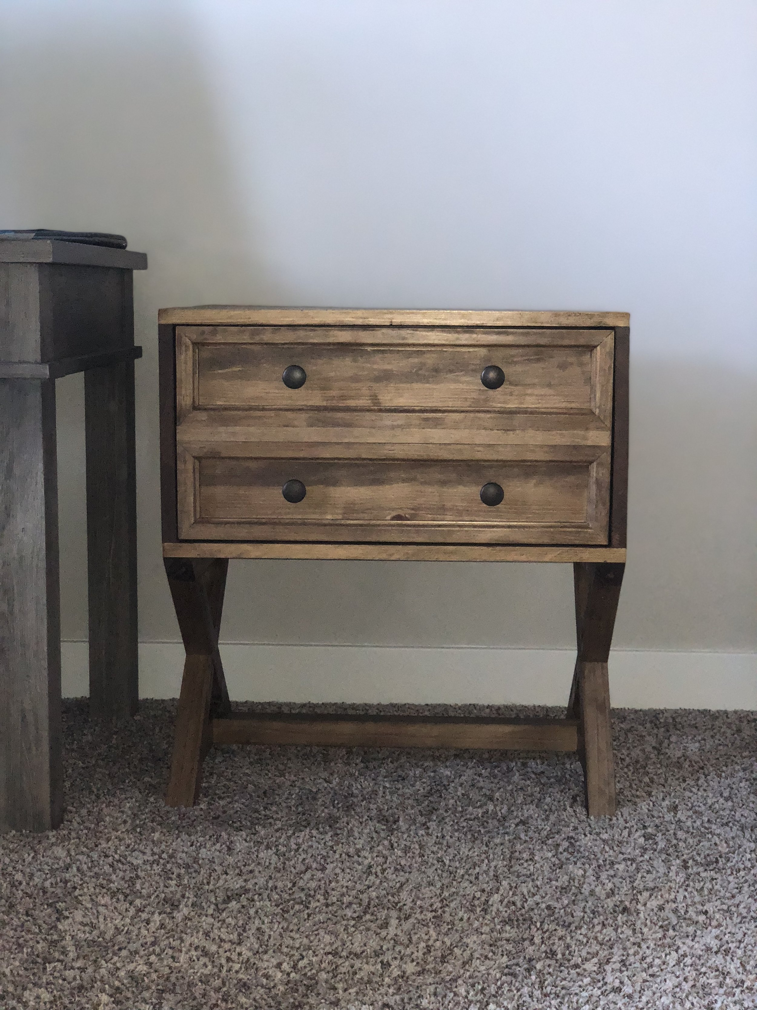Custom built filing cabinet