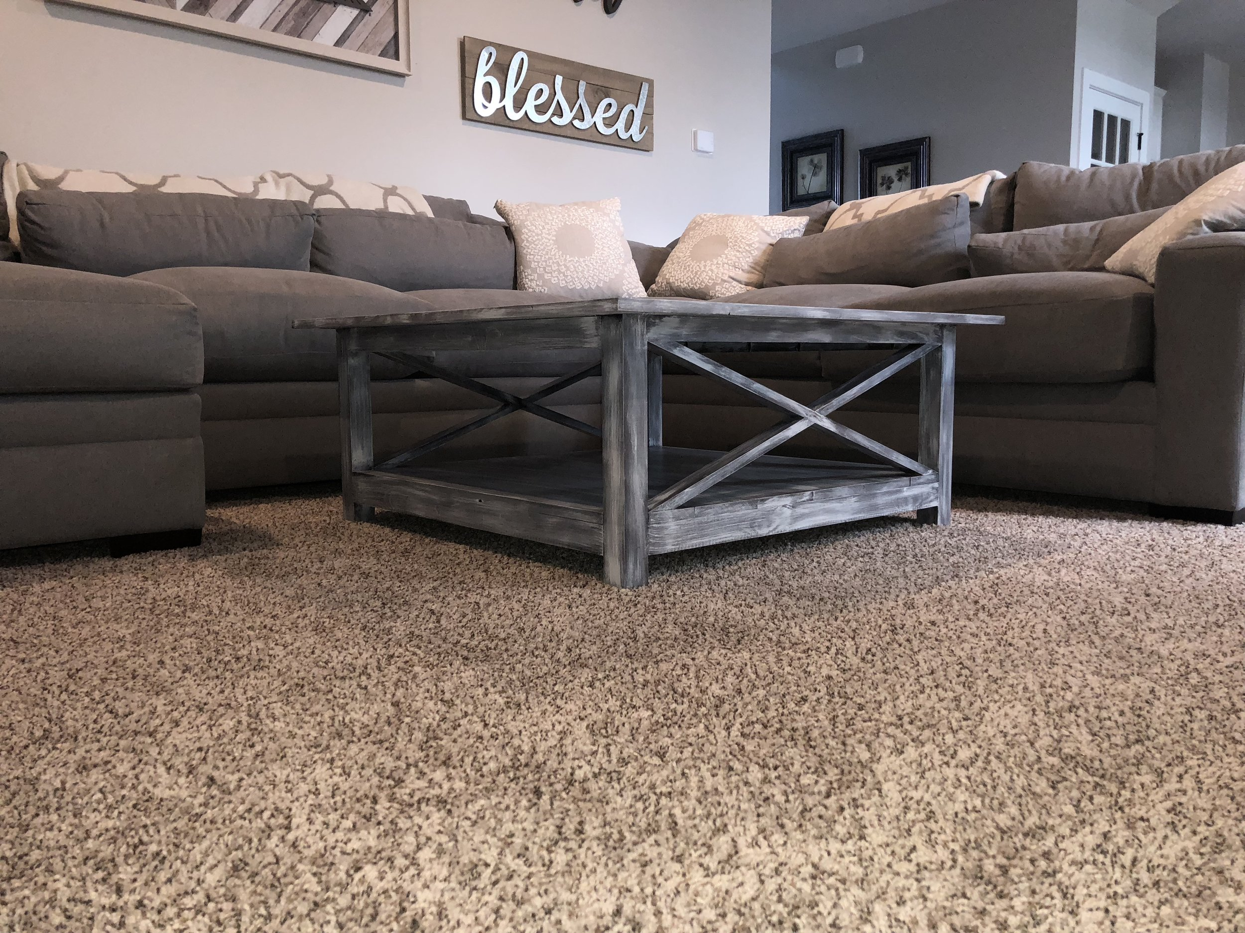 Custom built x Brace coffee table