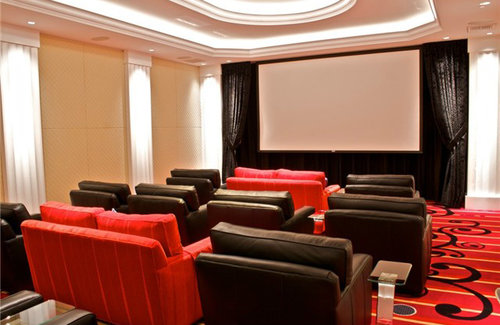 an extension of home  The amenities at Escala are an extension of your living space with a theater that converts to a boardroom, climate controlled wine cave with storage, intimate dining room and a fireside lounge that will impress even your most discerning guests.