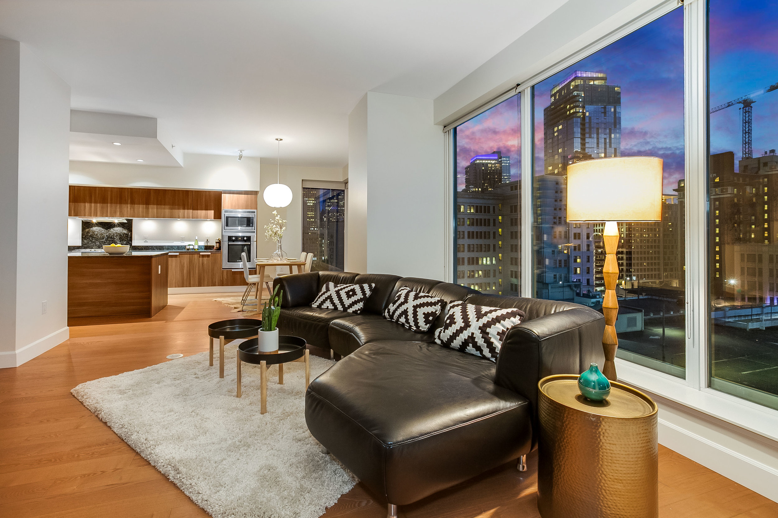 ESCALA # 902 - 2 Bedroom, 2 Bathrooms, 1,607 Square Feet2 Parking Space, 1 Storage UnitSOLD at $1,150,000