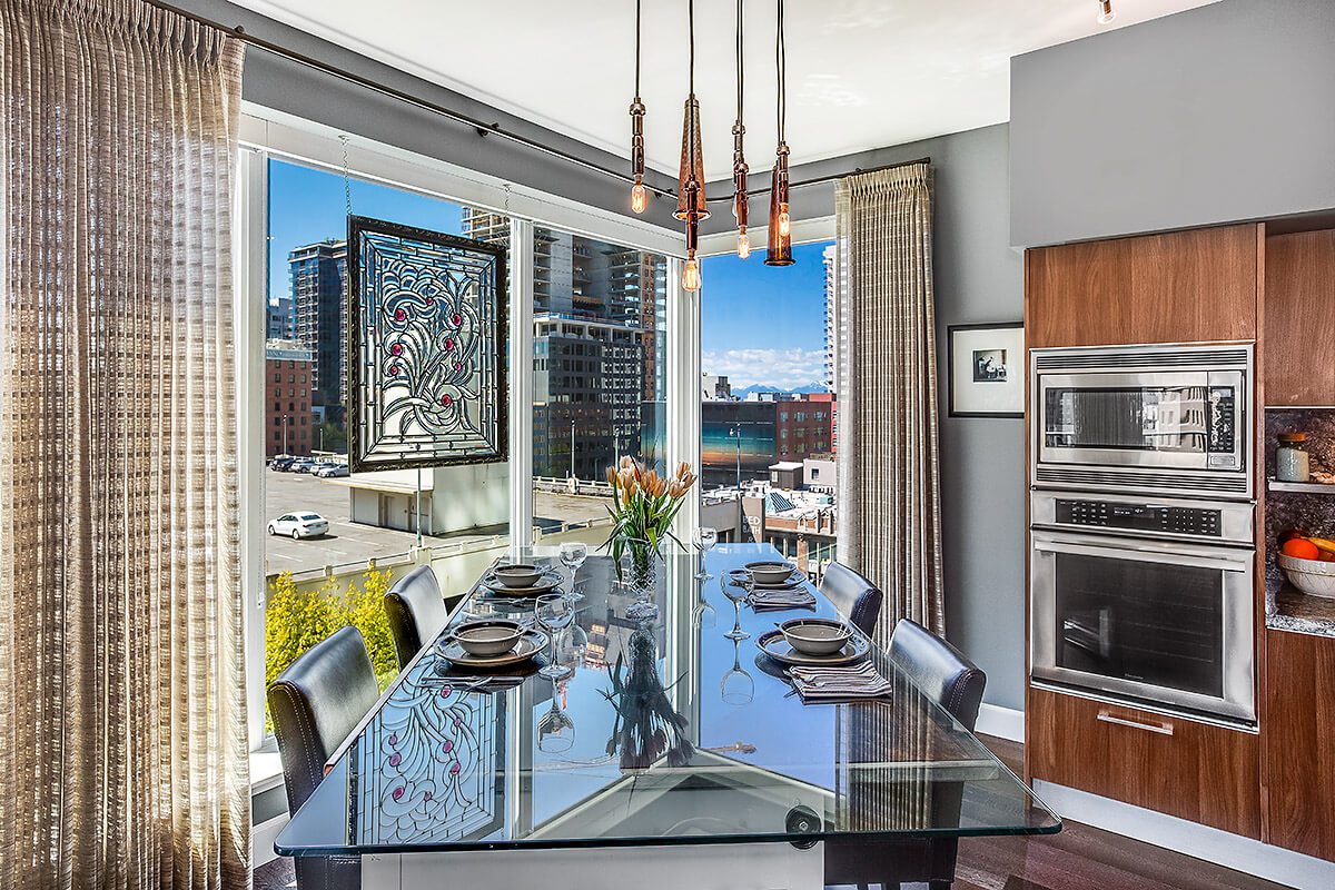 Dining Room | Luxury Condo For Sale | Escala By Olga | Seattle WA.jpg
