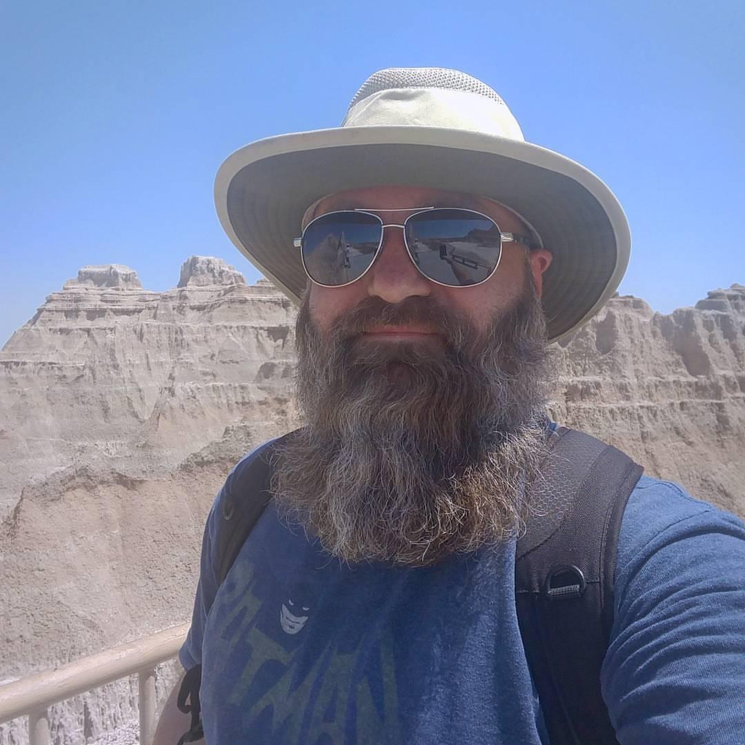 This beard is a national treasure.