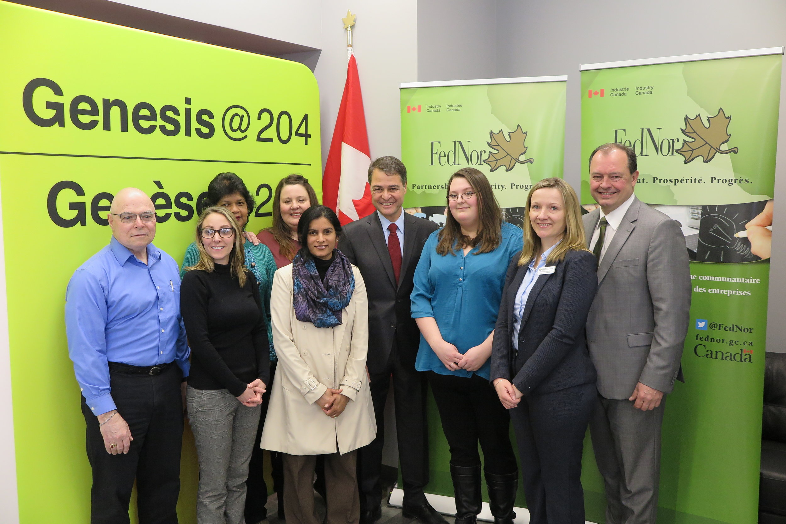 Genesis@204 Funding Announcement