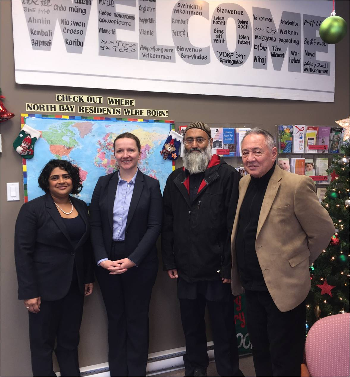 The OHRC visits NBDMC