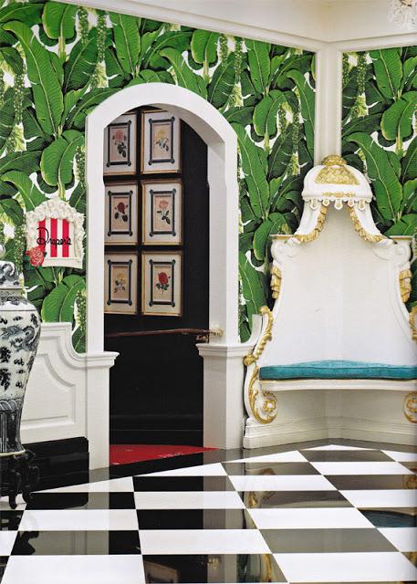 Greenbrier Hotel in West Virginia featuring Brazilliance wallpaper