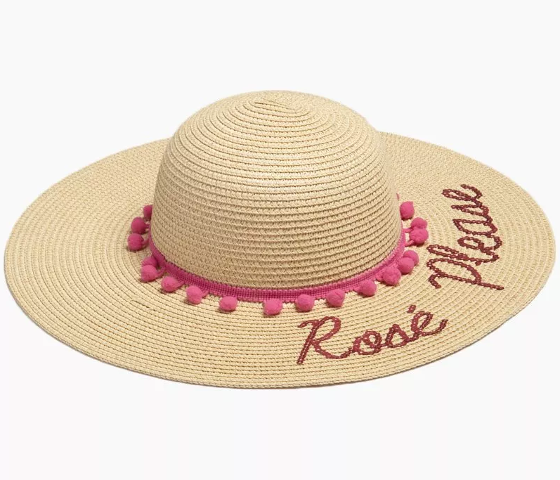 Rose Please Floppy Hat