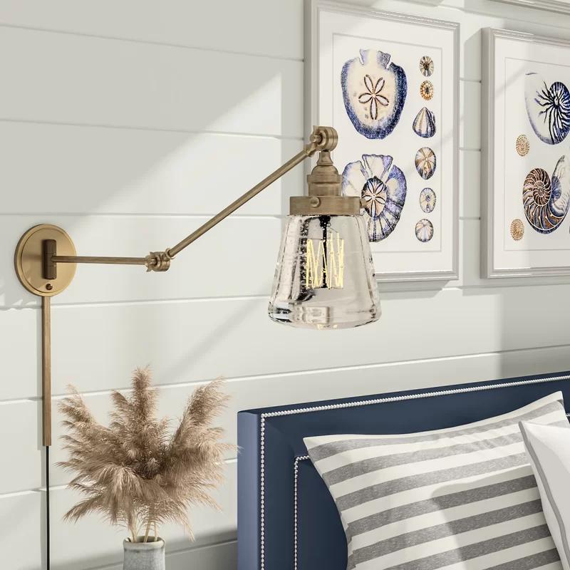 Brinley Swing Arm Wall Lamp