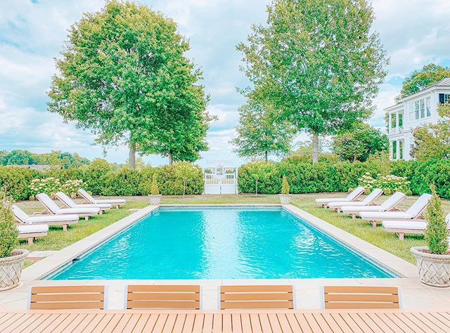 This pic is just giving me all of the Friday feels ✌️ Snapped this photo when I was staging the photo shoot at Ben Coolyn Farm in Keswick, VA. You can now rent this ✨ a m a z i n g ✨estate for a weekend getaway through @staycharlottesville 😍 I could personally camp out right here by this pool for the rest of the summer. Who is with me? 🙋‍♀️ With 12 people in your group, you can rent the whole estate for less than $350/pp for a whole weekend! 😮 Swipe right ➡️ for some more pics- the rest of the photos are taken by my lovely photographer, @melody.robbins 📸 and some drone shots by @staycharlottesville 🙌 DM me or comment if you want more details on this luxury rental! . . . #travel #vacation #pool #poolside #airbnb #vacationrental  #interiordesign #antique #estate #vacationhome #charlottesvilleva #adventure  #luxurylifestyle #luxuryhomes #virginia #cville #bookdirect #dmv #rva #uva