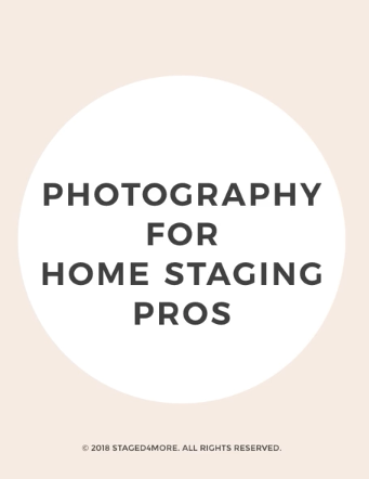Interior Photography for Home Stagers | Staged4more School of Home Staging blog